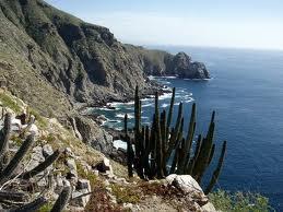 Todos Santos cliffs